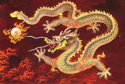 Chinesedragonred